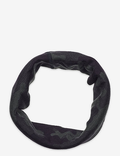 Printed Wool Tube WEB - halstørklæder - gcamo