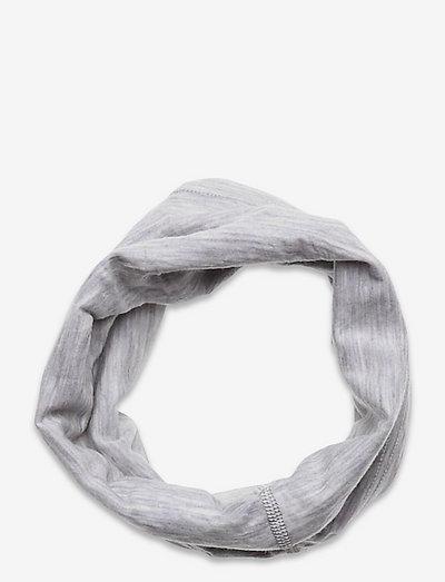 Solid Wool Tube WEB - hårbånd - greym