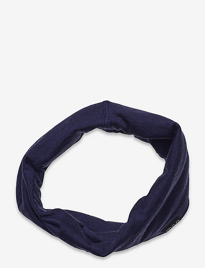 Solid Wool Tube WEB - hårbånd - navy