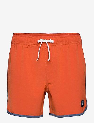 Burn Shorts - badebukser - brick