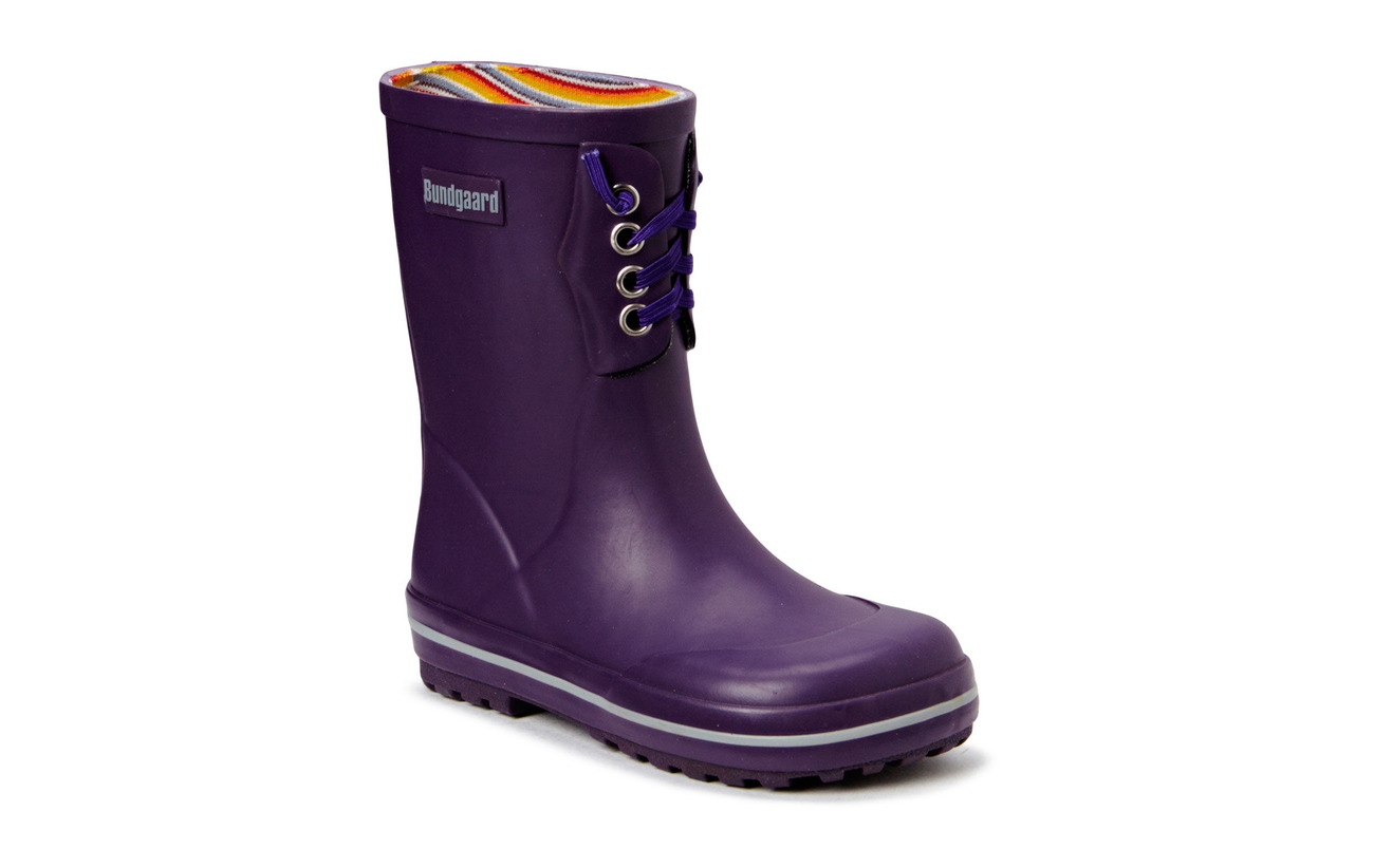Bundgaard Classic Rubber Boot Purple - PURPLE