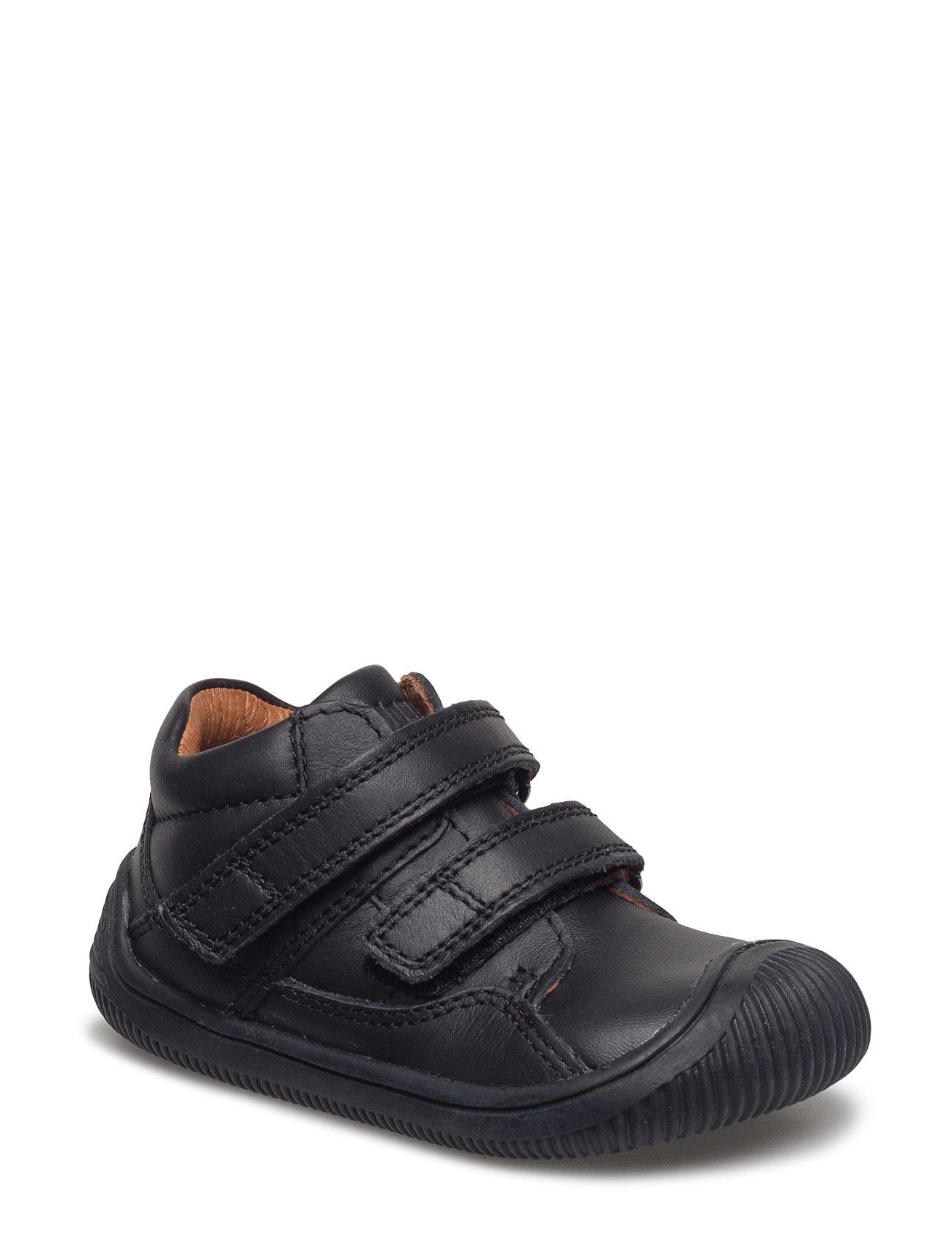 bf789b2dc07 Bundgaard sneakers – Walk With Velcro til børn i Sort - Pashion.dk