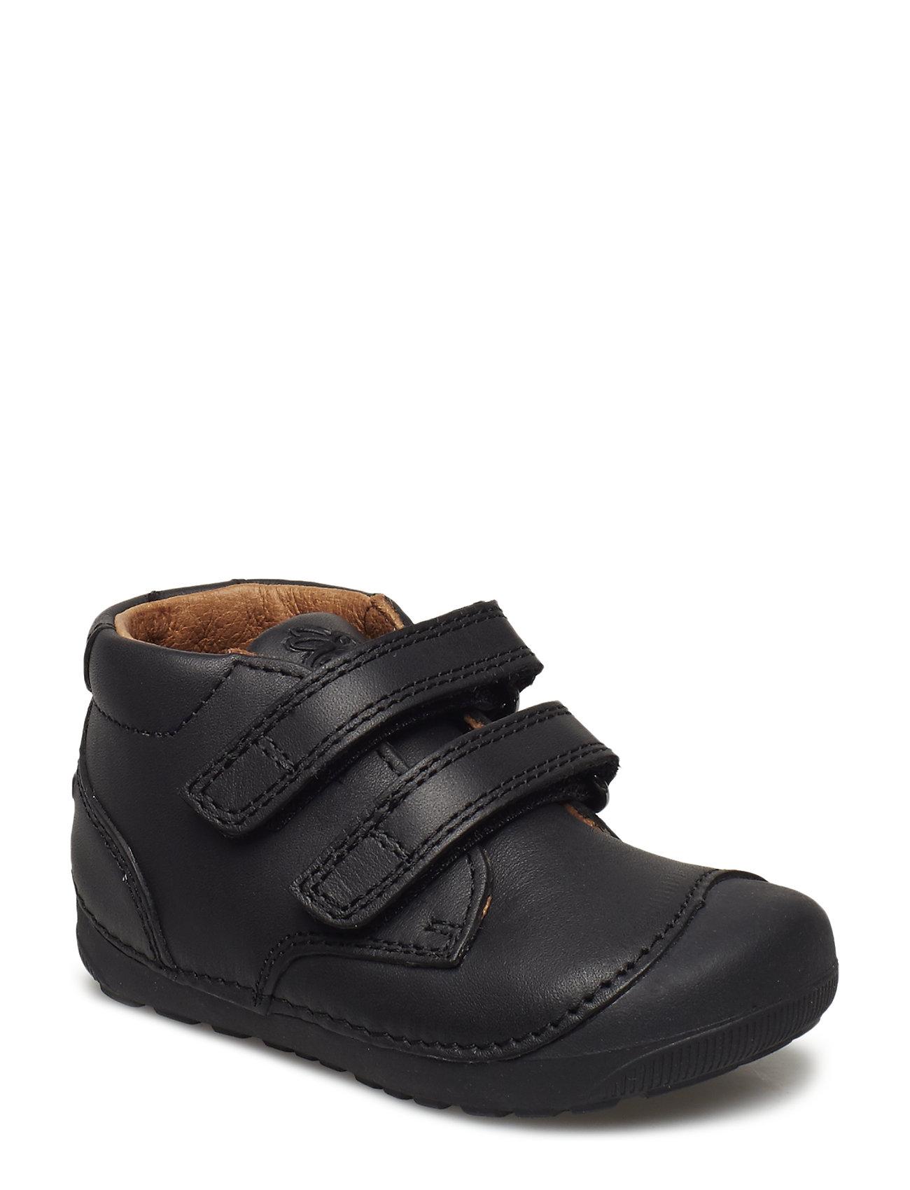 Bundgaard Petit Velcro - BLACK/BLACK