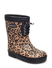 Classic Rubber Boots Warm - LEOPARD
