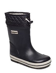 Sailer Rubber Boot Warm - BLACK