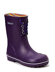 Classic Rubber Boot Purple - PURPLE