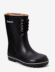 Bundgaard - Classic Rubber Boot Black - gummistiefel - black - 0