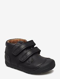 Petit Velcro - pre-walkers - black/black