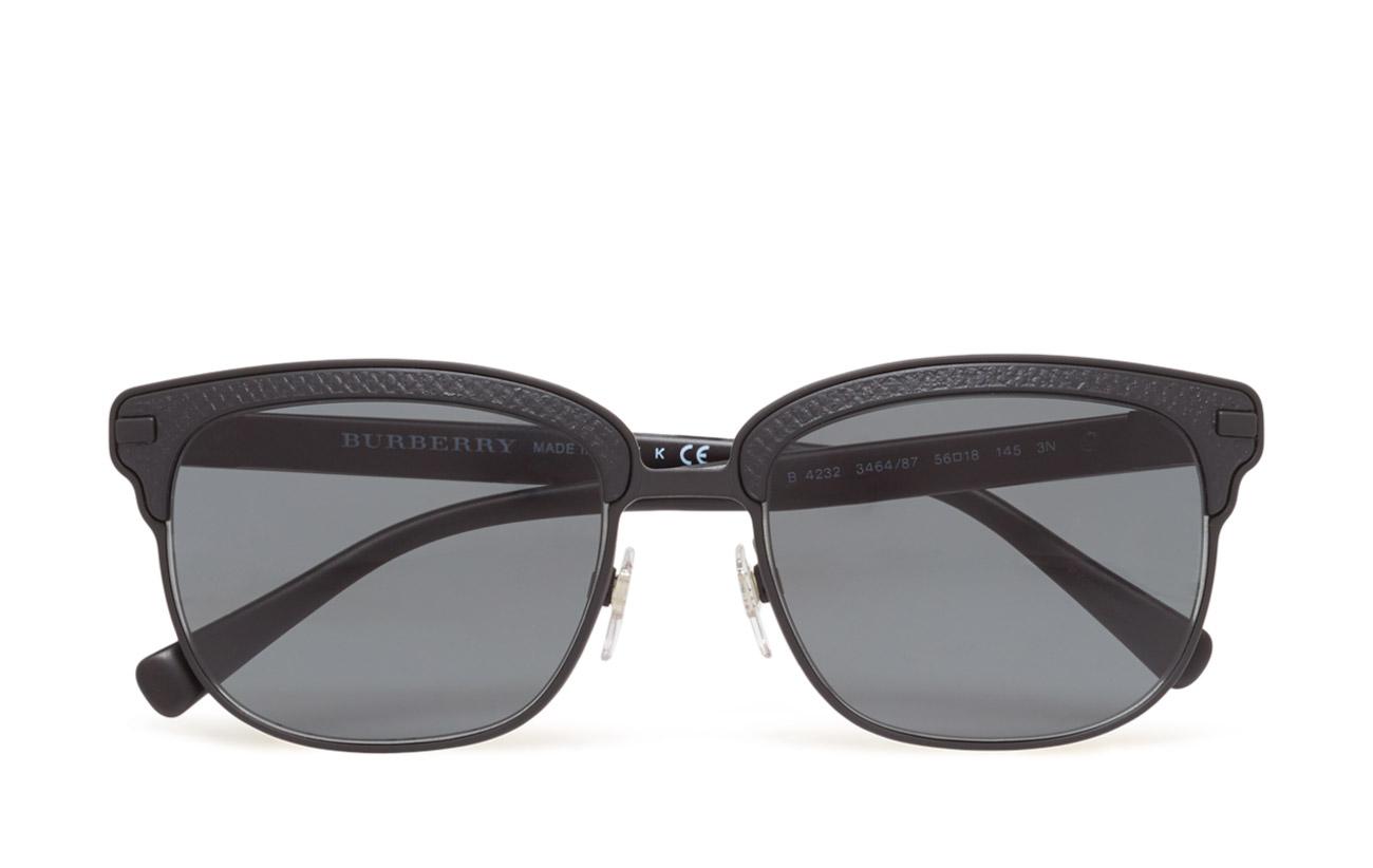 D-frame (Black Rubber/matte Black) (£194) - Burberry Sunglasses ...