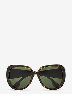 Burberry Sunglasses - square frame - dark havana