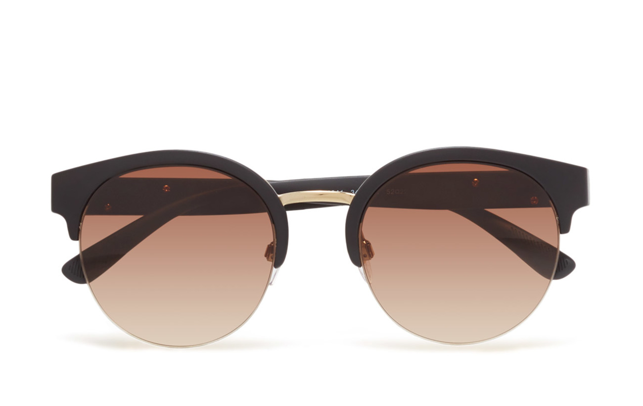 Burberry Sunglasses THE REGENT COLLECTION - MATTE BLACK/PALE GOLD