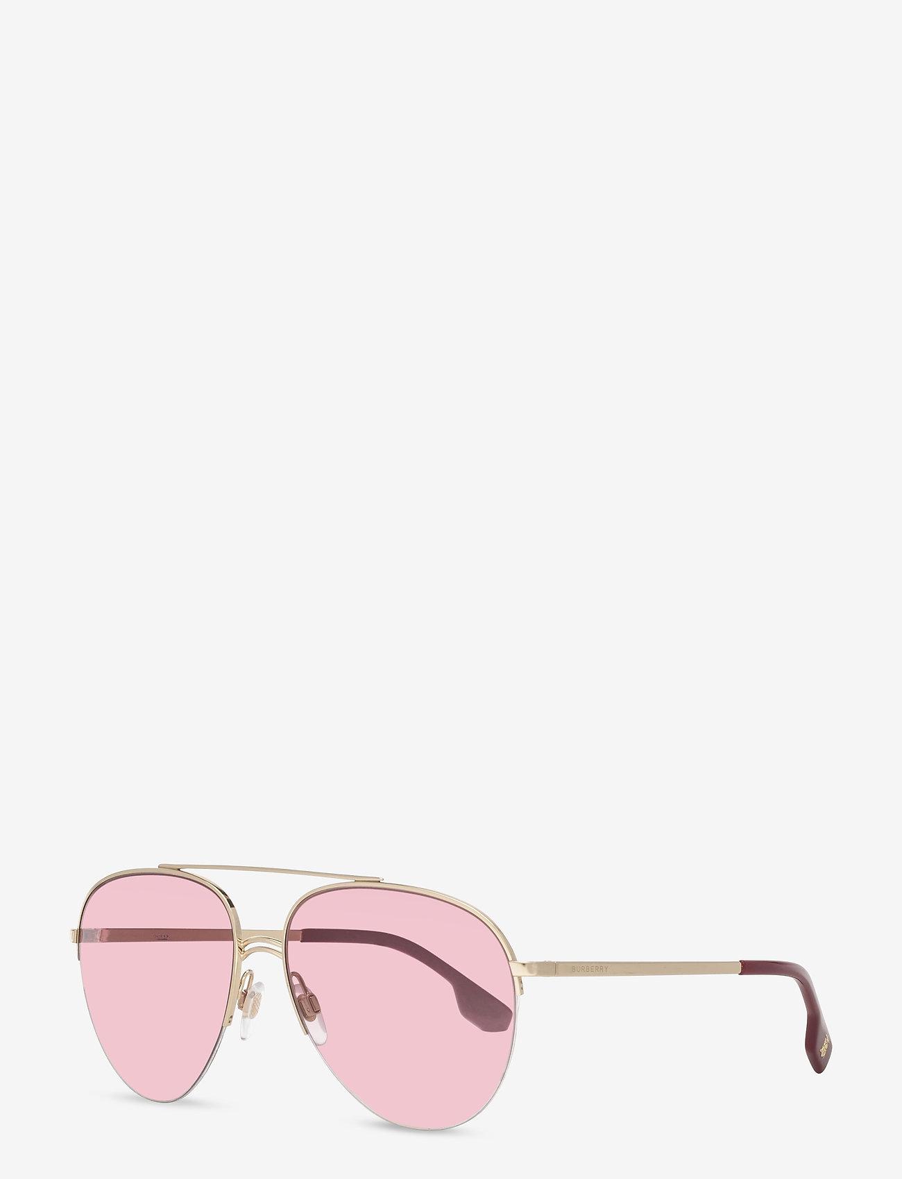 Burberry Sunglasses - Sunglasses - pilot - clear gradient dark violet - 1