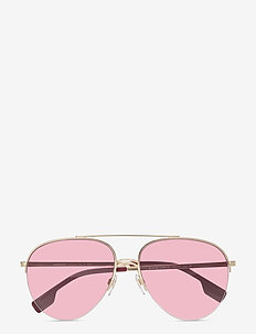 Sunglasses - pilot - clear gradient dark violet