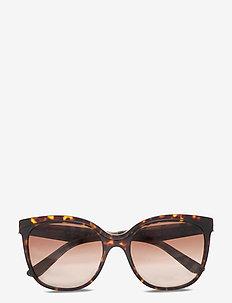Sunglasses - cat-eye - brown gradient