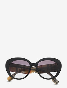 Sunglasses - round frame - grey gradient