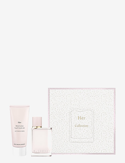 BURBERRY HER EDP 50ML/BODYLOTION 75ML - tuoksusetit - no color
