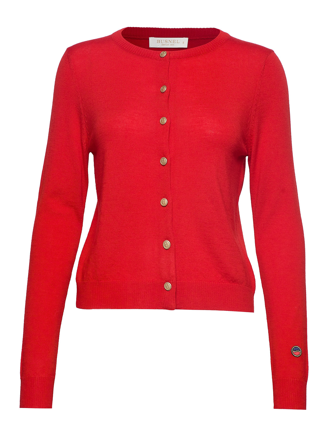 BUSNEL Kee bis cardigan - RED