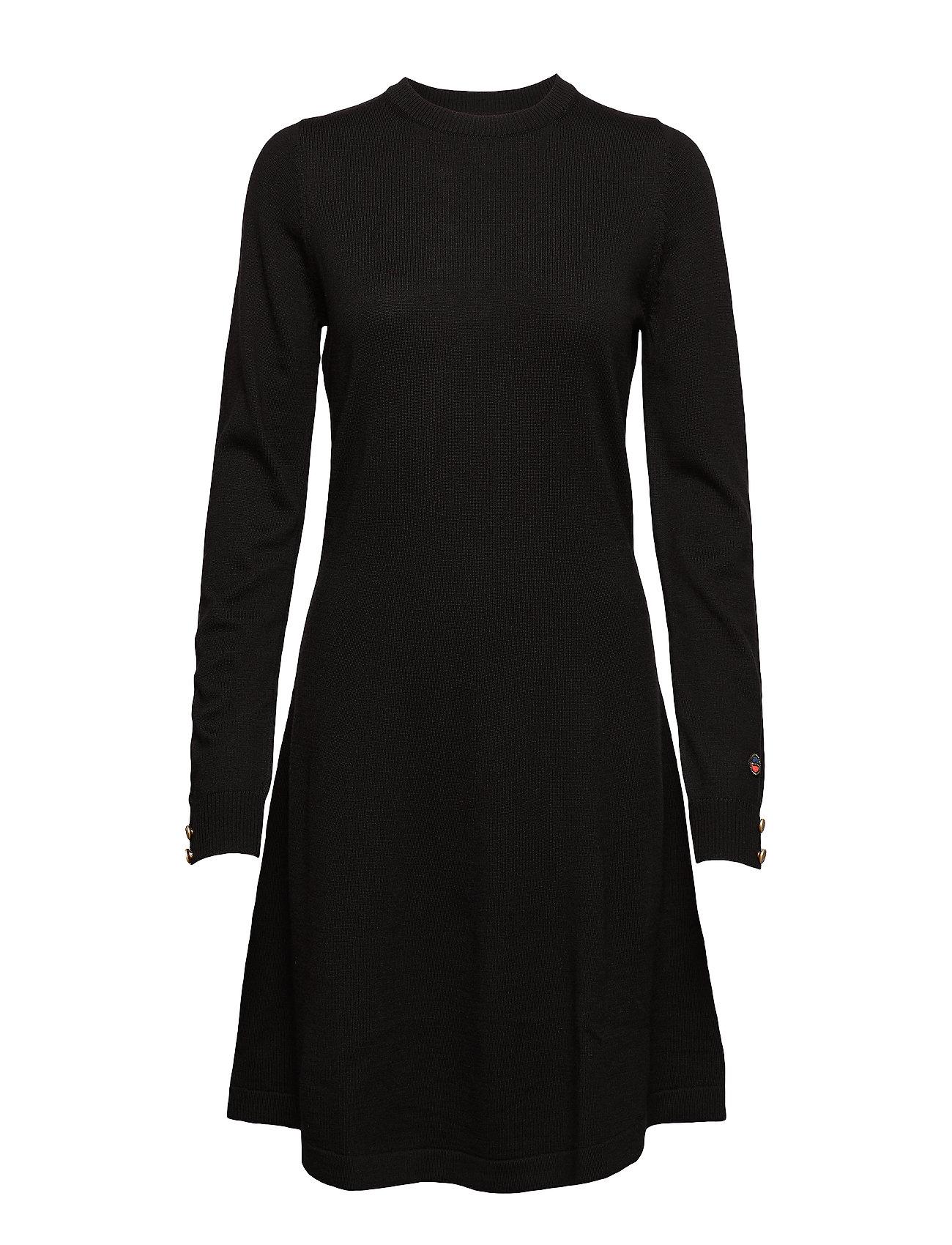 BUSNEL Astrid dress - BLACK