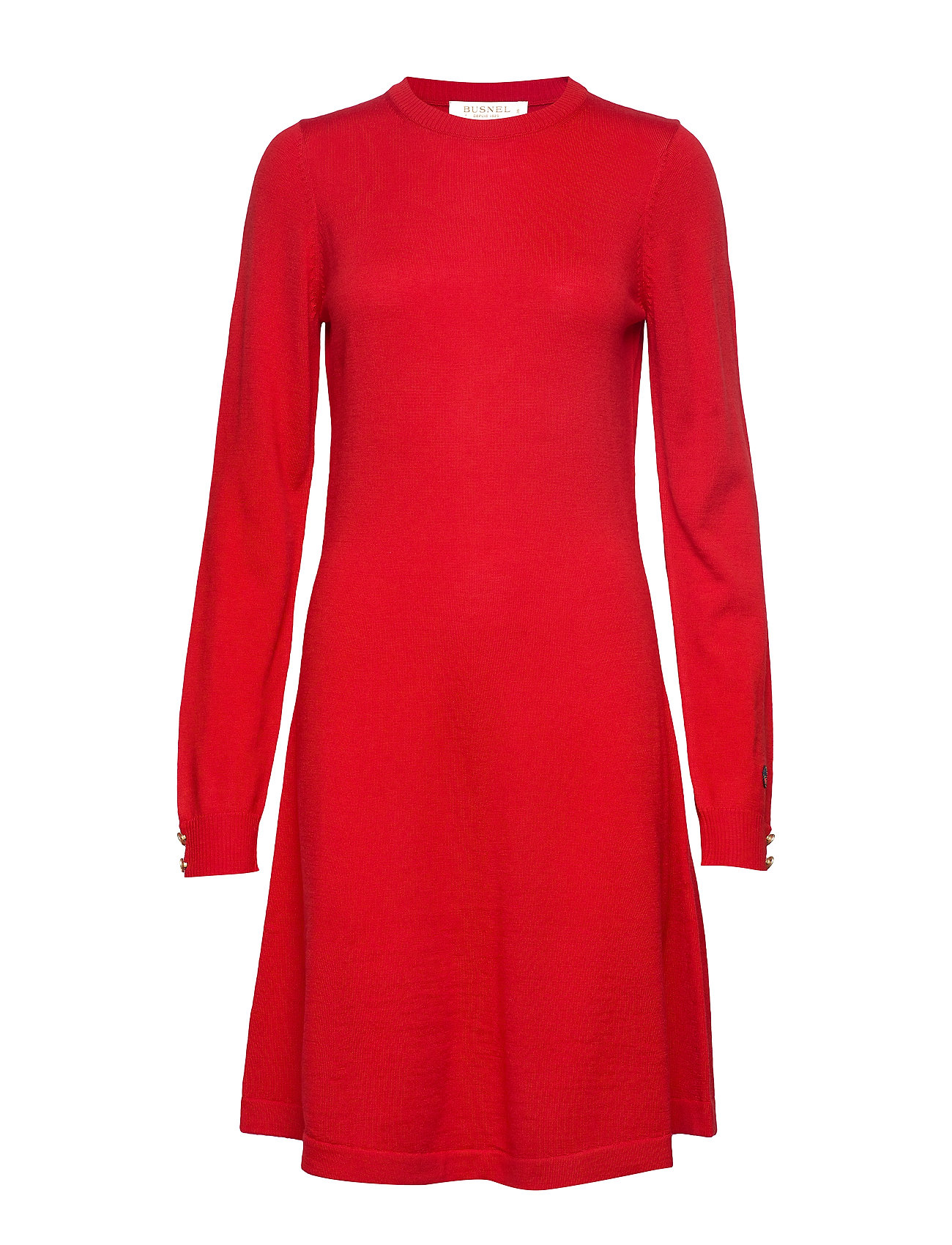 BUSNEL Astrid dress - RED