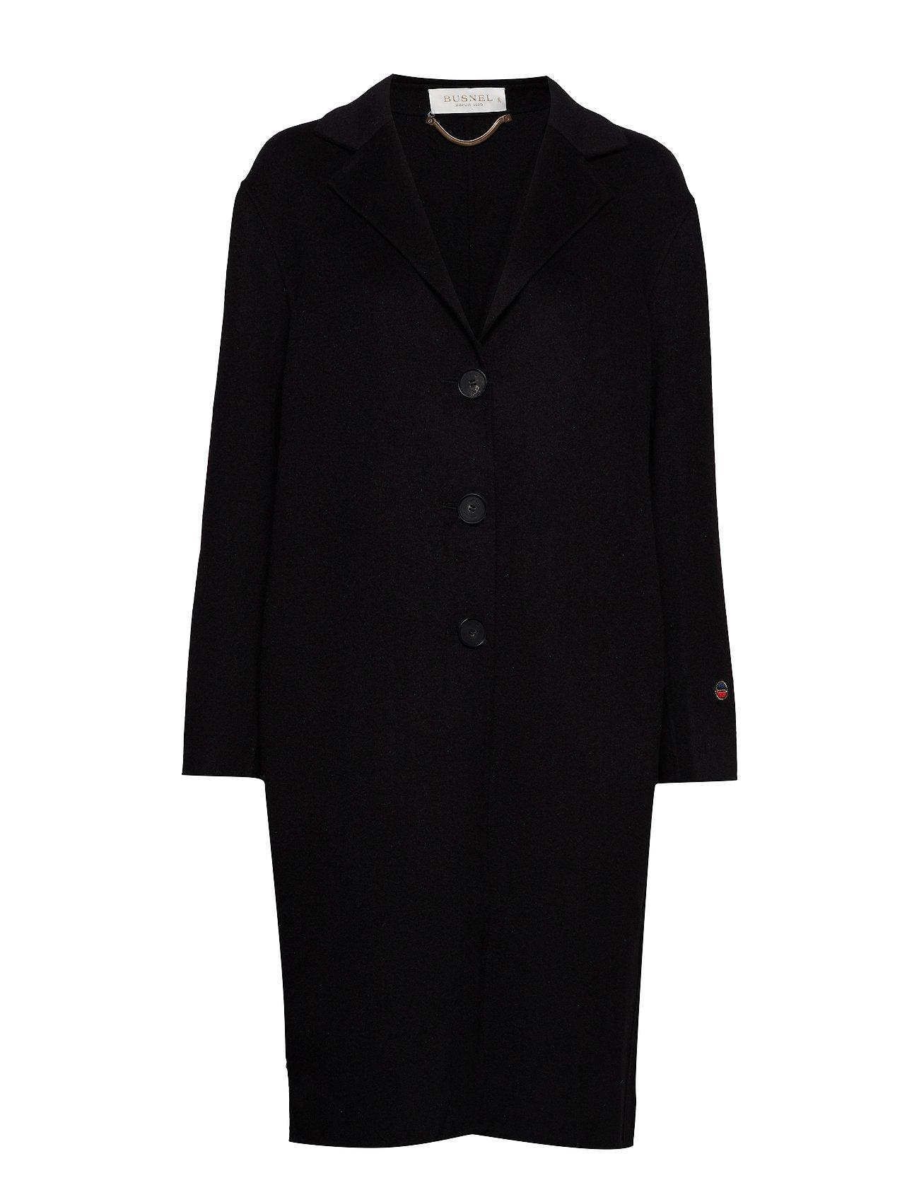BUSNEL Blanca coat - BLACK