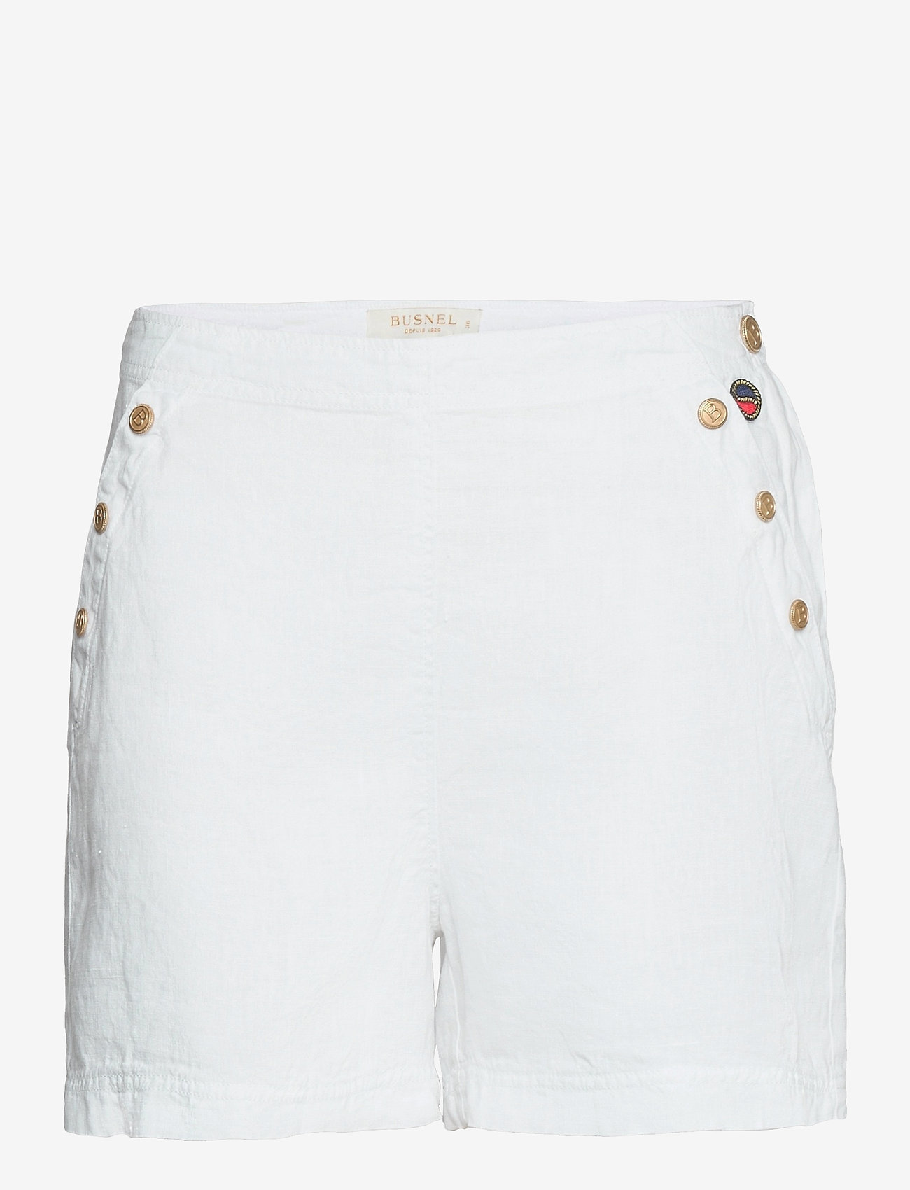 BUSNEL - Peggie shorts - shorts casual - white - 0
