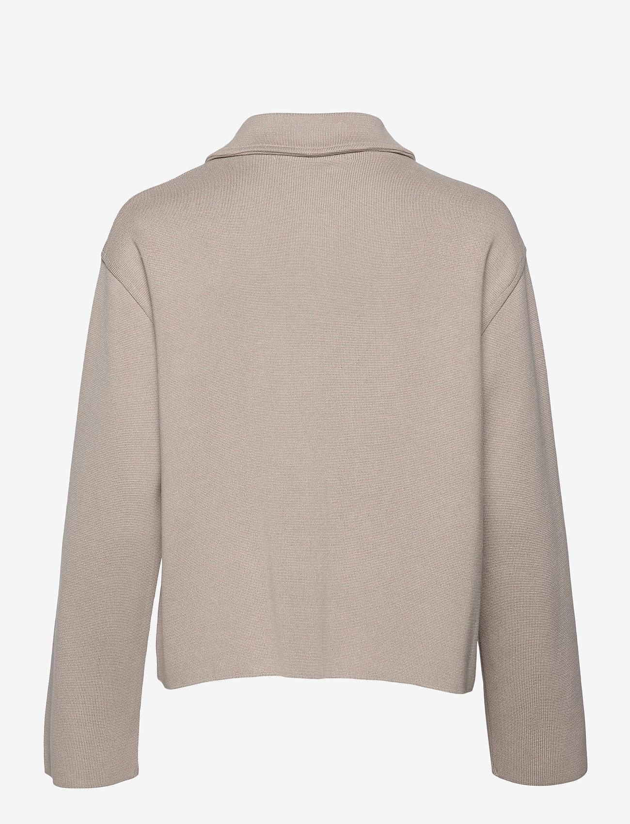 BUSNEL - Nina jacket - wool jackets - sand - 1