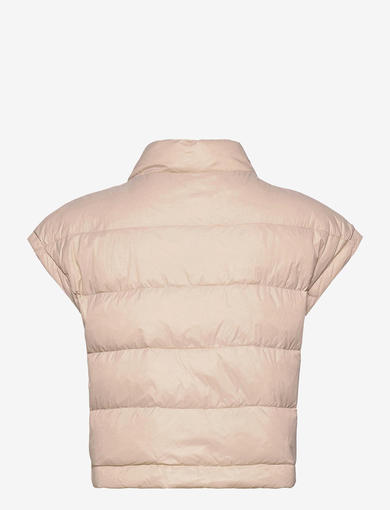 BUSNEL - Irma down vest - puffer vests - sand - 1