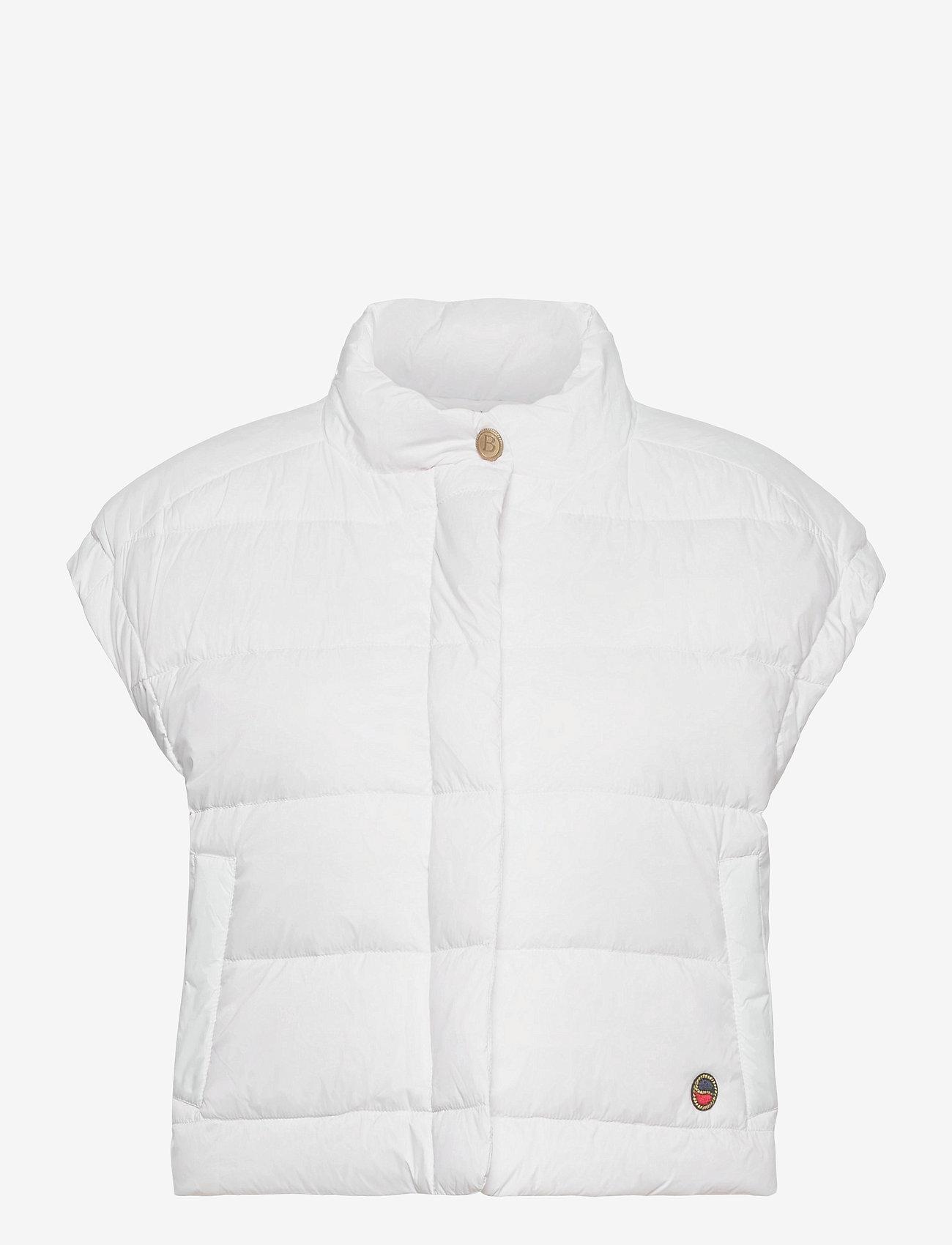 BUSNEL - Irma down vest - puffer vests - white - 0
