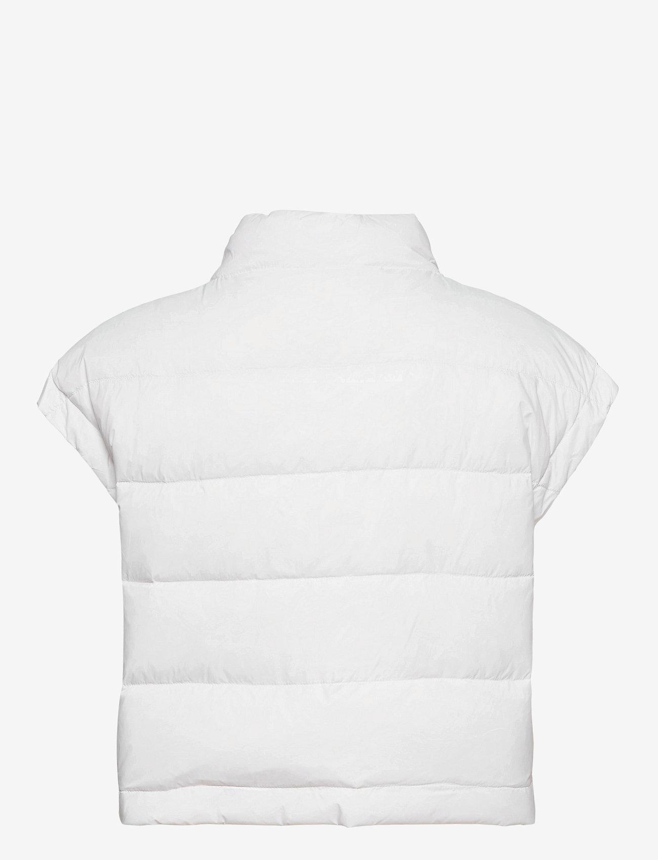 BUSNEL - Irma down vest - puffer vests - white - 1