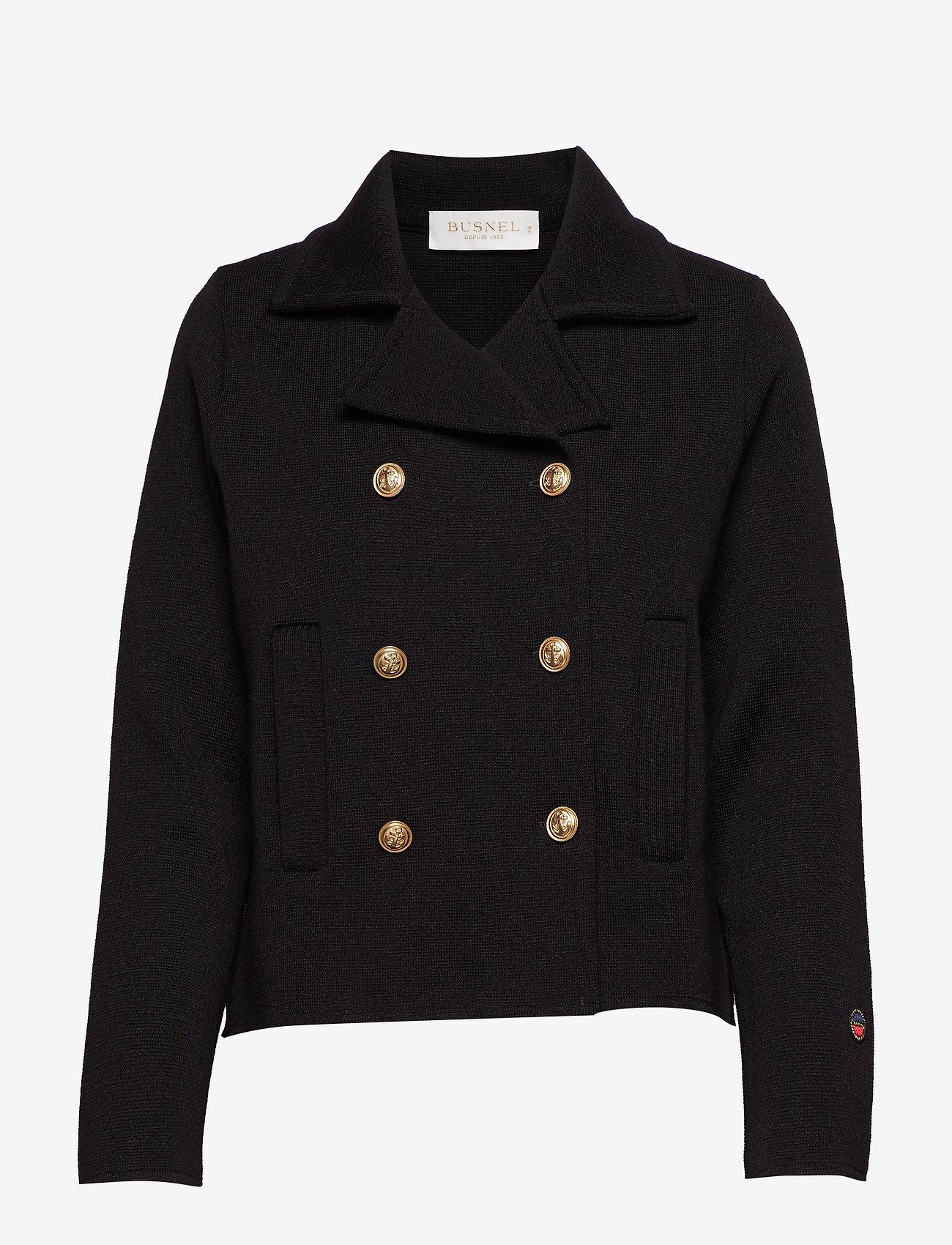 BUSNEL - Indra jacket - light jackets - black - 0