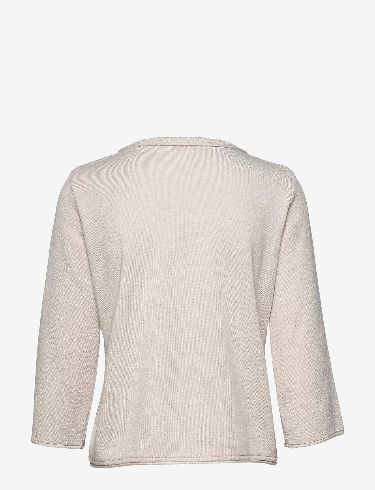 BUSNEL Liv jacket - Knitwear NOUGAT