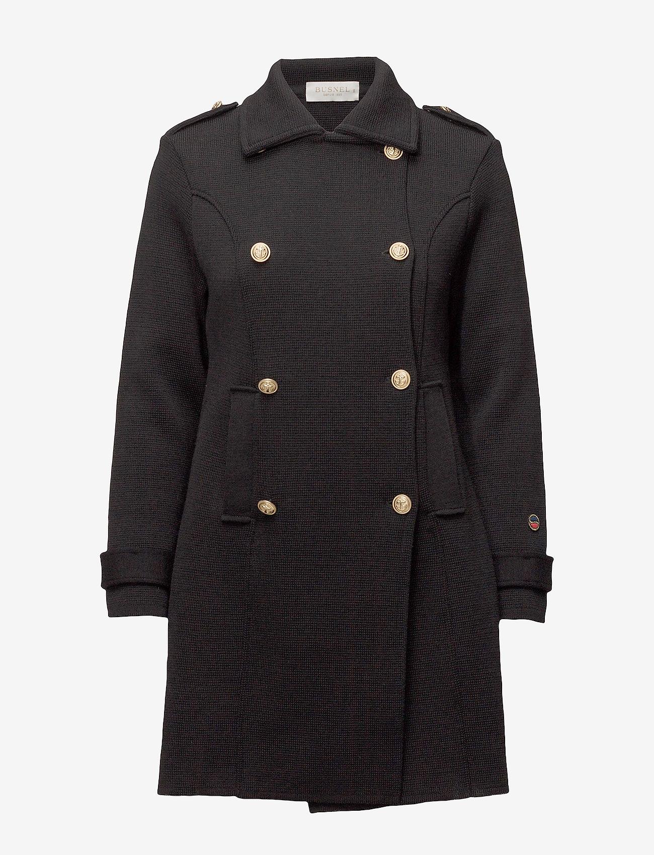 BUSNEL - Marina coat - wollen jassen - black - 1