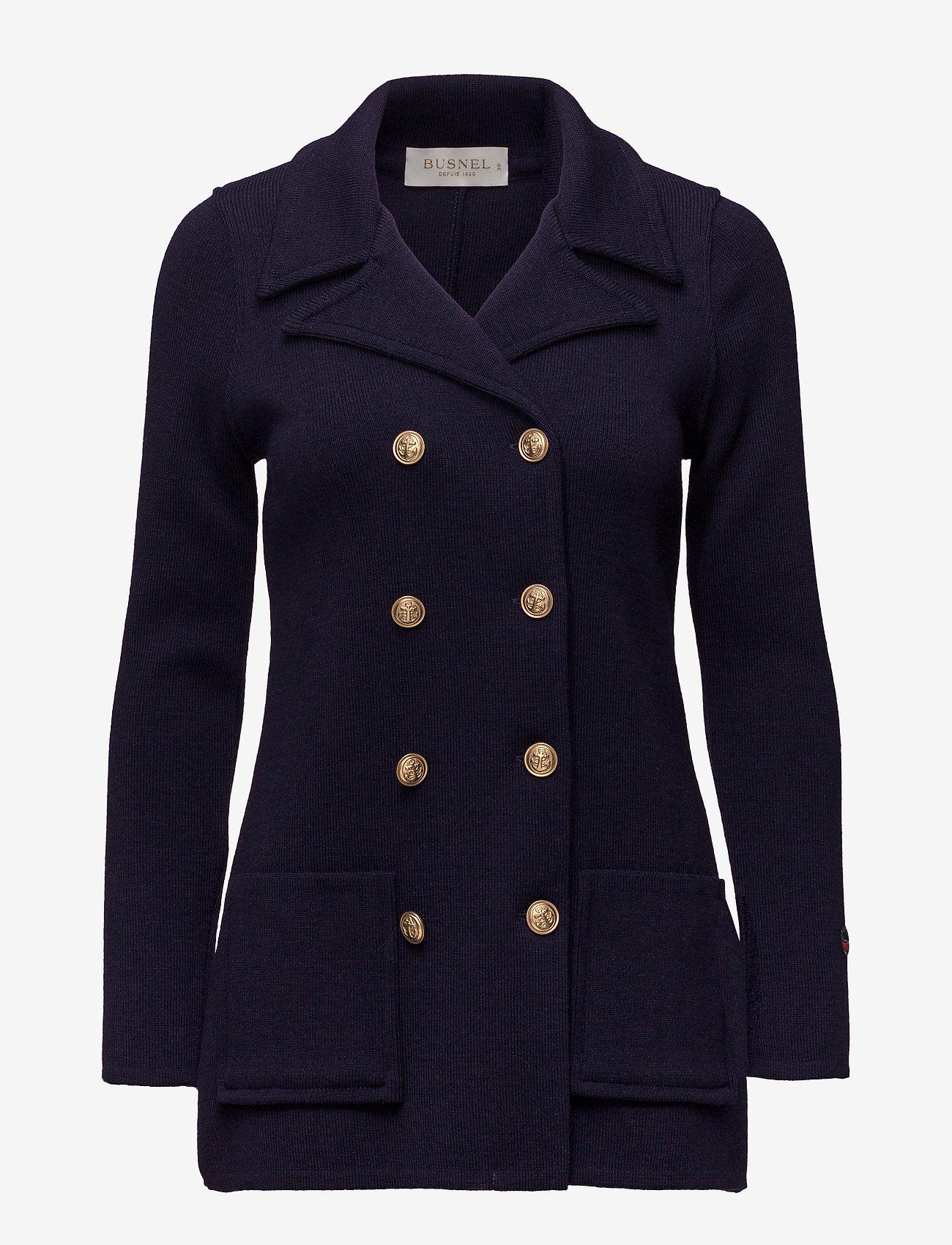 BUSNEL - Victoria jacket - lette jakker - marine - 0
