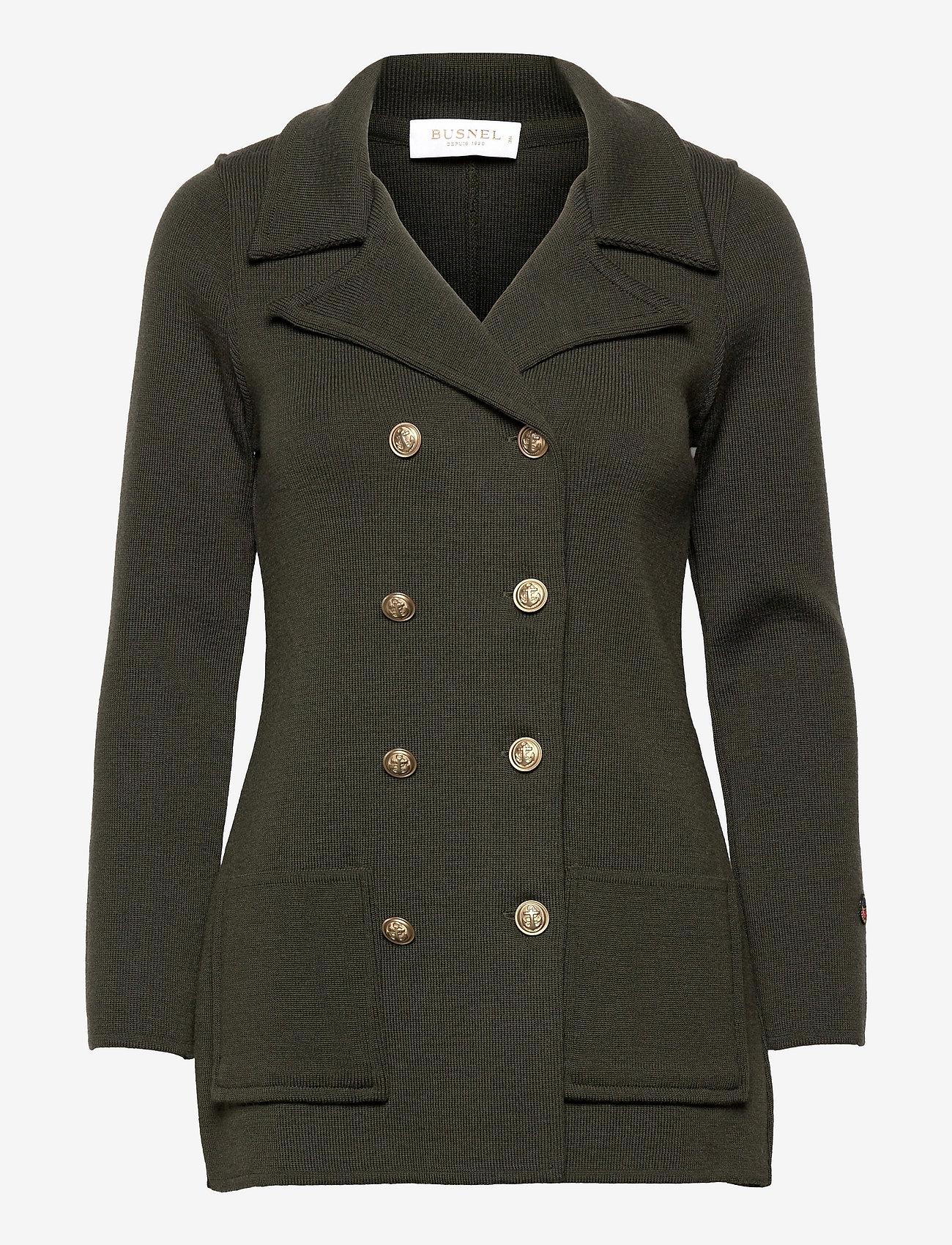 BUSNEL - Victoria Jacket - vinterjackor - khaki green - 0