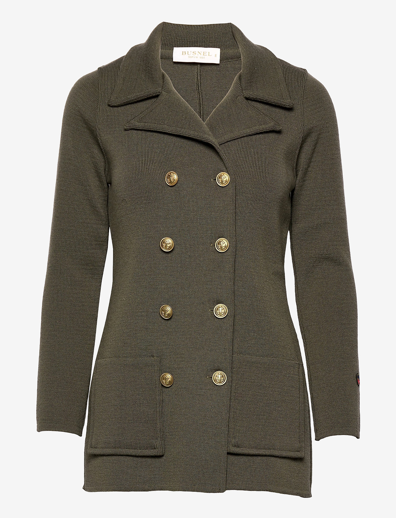 BUSNEL - Victoria Jacket - light jackets - olive - 0
