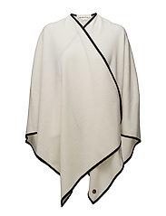 Balma poncho - WHITE