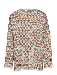 Rédené' jacket - SALTY CARAMEL/FOAM WHITE