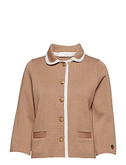 Sainte colombe jacket - SALTY CARAMEL WITH FOAM WHITE LINE