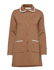 Sainte Marie coat - SALTY CARAMEL/FOAM WHITE