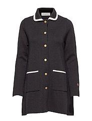 Sainte Marie coat - BLACK/FOAM WHITE