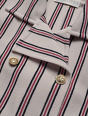 BUSNEL - Indra jacket - wool jackets - nougat stripe - 2