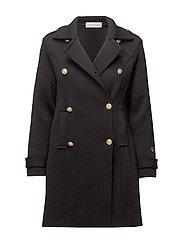 BUSNEL Marina coat - BLACK