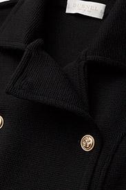 BUSNEL - Marina coat - wollen jassen - black - 3