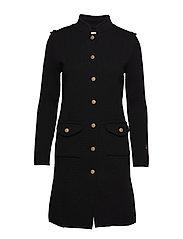 Adele coat - BLACK