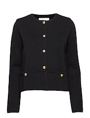 Fleur jacket - BLACK