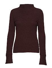 Emmy sweater - BURGUNDY