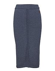 Solange skirt - OCEAN BLUE
