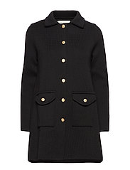 Clementine coat - BLACK