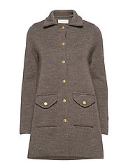 Clementine coat - TAUPE