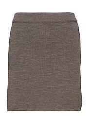 Mattie skirt - TAUPLE
